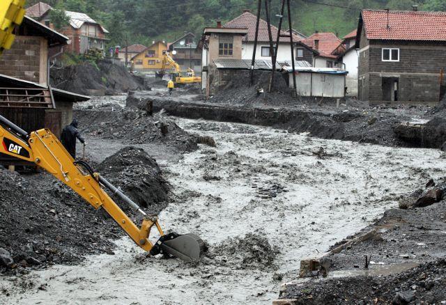 Ενας αγνοούμενος από το νέο κύμα κακοκαιρίας στη Βοσνία | tanea.gr