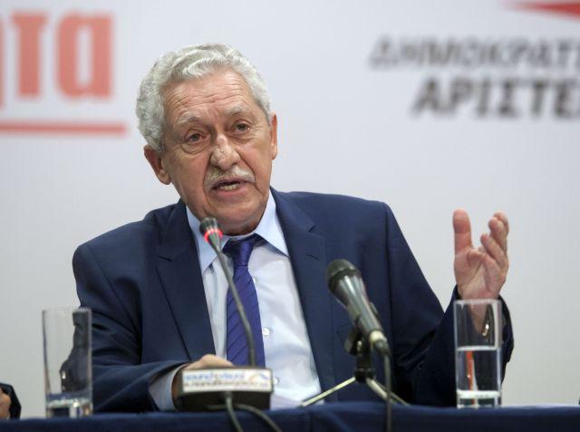 Φώτης Κουβέλης: «Οι εκλογές δεν πρέπει να αφορίζονται»   tanea.gr