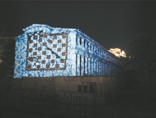 Σύγχρονη τέχνη στην Αρχαία Αγορά   tanea.gr