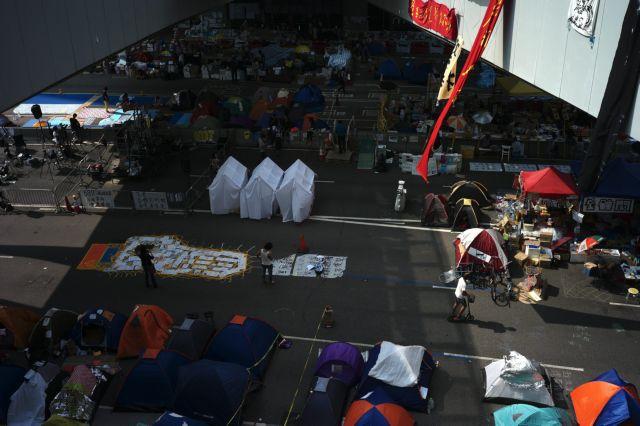 Χονγκ Κονγκ: Ακαρπος ο διάλογος κυβέρνησης - φοιτητών   tanea.gr