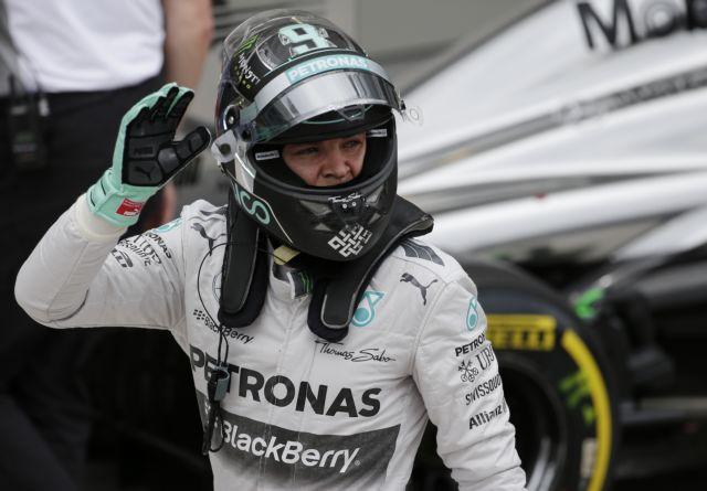 Ο Ρόσμπεργκ πήρε την pole position στο Σάο Πάολο   tanea.gr