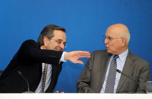 Σαμαράς: «Ο Σταύρος Δήμας θα είναι υποψήφιος Πρόεδρος της Δημοκρατίας» | tanea.gr