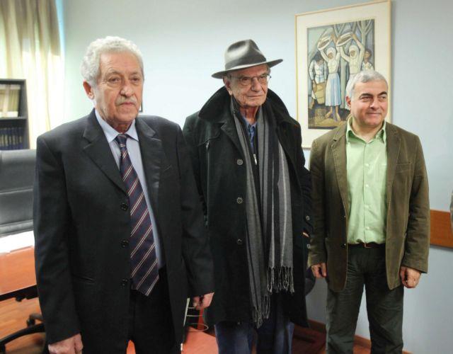ΔΗΜΑΡ και Πράσινοι παρουσίασαν τον επικεφαλής του ψηφοδελτίου Επικρατείας, Βασίλη Βασιλικό | tanea.gr