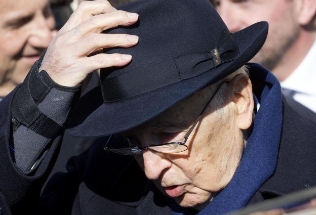 Παραιτήθηκε ο πρόεδρος της Ιταλίας Τζόρτζιο Ναπολιτάνο   tanea.gr