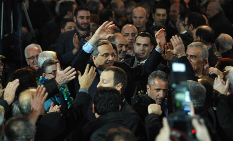 Σαμαράς: «Ο ΣΥΡΙΖΑ μας οδηγεί σε έξοδο από το ευρώ» | tanea.gr