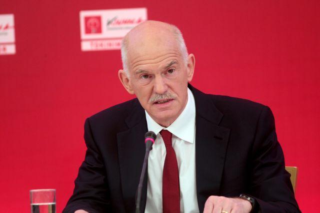 Επαναφέρει το αίτημα για δημοψήφισμα ο Παπανδρέου: «Οταν το είχα προτείνει με ανέτρεψαν» | tanea.gr