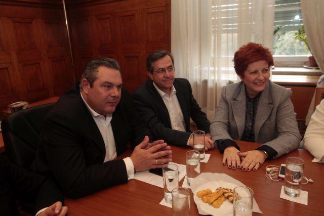 Τι ειπώθηκε στην ΚΟ των Ανεξάρτητων Ελλήνων - το υπουργείο Αμυνας αναλαμβάνει ο Καμμένος   tanea.gr
