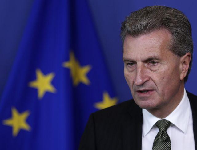 Ετινγκερ: «Συμφωνία μέσα στις επόμενες οκτώ μέρες αν χρειαστεί και με Σύνοδο Κορυφής»   tanea.gr