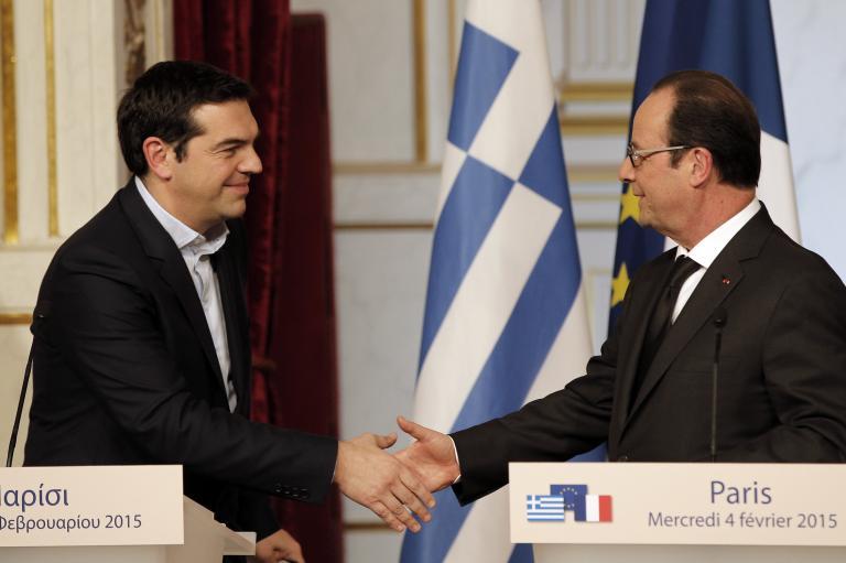 Ολάντ: «Είναι καιρός να βρεθεί μια διαρκής λύση για την Ελλάδα»   tanea.gr