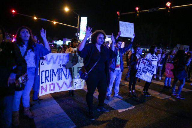 Ουάσιγκτον: Νέο συλλαλητήριο κατά της αστυνομικής βίας   tanea.gr