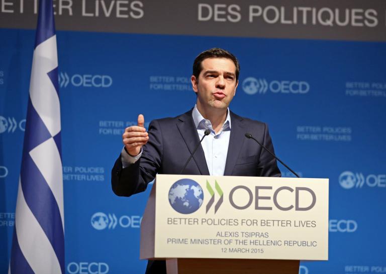 Τσίπρας στον ΟΟΣΑ: Αυτοί είναι οι άμεσοι στόχοι των μεταρρυθμίσεων   tanea.gr
