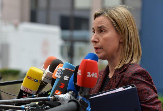 «Αν πέσει ένας, πέφτουν όλοι»: Ευελιξία για την Ελλάδα ζητεί η Μογκερίνι | tanea.gr