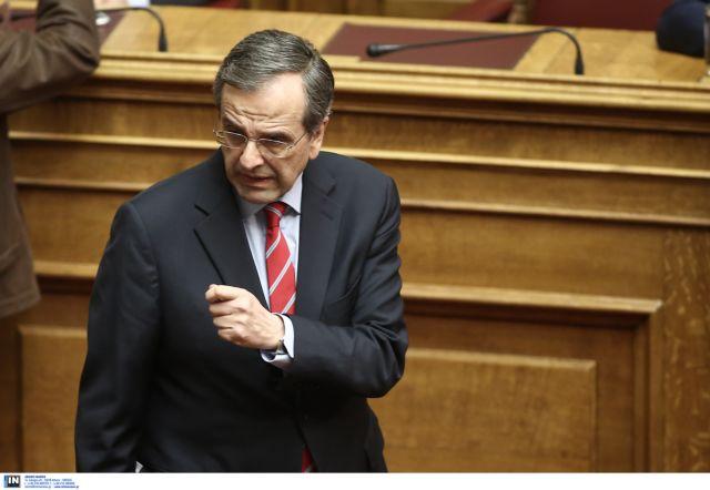 Σαμαράς: «Η κυβέρνηση ικανοποιεί αιτήματα κουκουλοφόρων και τρομοκρατών» | tanea.gr