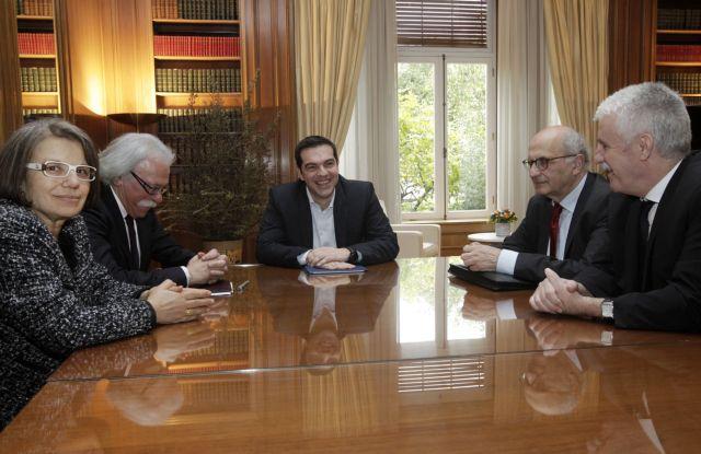 Συνάντηση Τσίπρα με τους προέδρους των Ανωτάτων Δικαστηρίων | tanea.gr