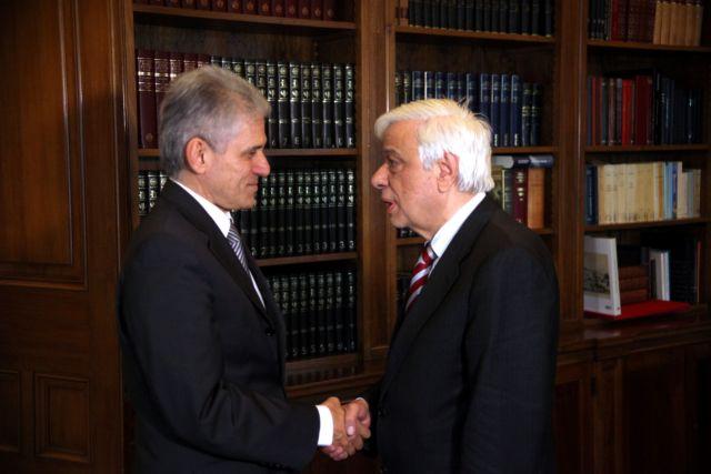 Παυλόπουλος: «Η πορεία της Ελλάδας είναι μέσα στην ΕΕ και την ευρωζώνη» | tanea.gr