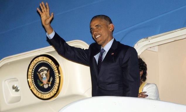 Τζαμάικα: Ο Ομπάμα έγινε ο πρώτος αμερικανός πρόεδρος που επισκέπτεται τη νησιωτική χώρα από το 1982   tanea.gr