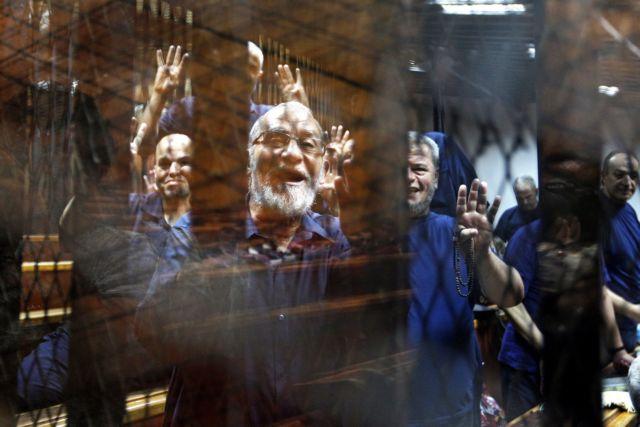 Αίγυπτος: Επικυρώθηκε η καταδίκη σε θάνατο του ηγέτη της Μουσουλμανικής Αδελφότητας | tanea.gr