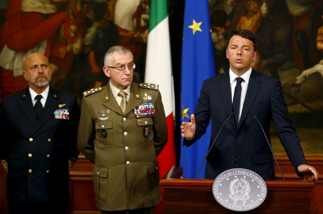 «Η Ιταλία δεν μπορεί μόνη»: Ευρωπαϊκή δράση κατά των διακινητών ζητά ο Ρέντσι   tanea.gr