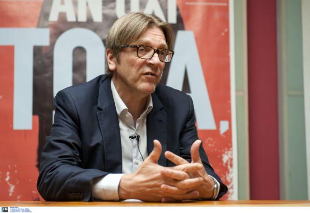 Γκι Φέρχοφστατ: «Να τελειώσει το πελατειακό σύστημα στην Ελλάδα» | tanea.gr