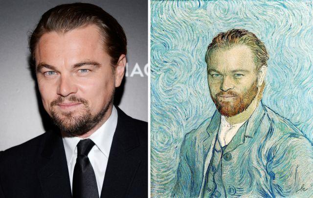 Πότε ζωγράφισε ο Βαν Γκογκ τον Ντι Κάπριο; | tanea.gr