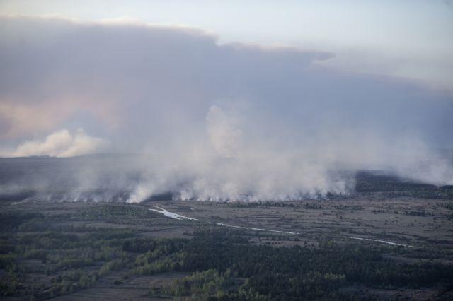 Ανακόπηκε η επέκταση πυρκαγιάς σε δάσος της περιοχής του Τσερνόμπιλ   tanea.gr