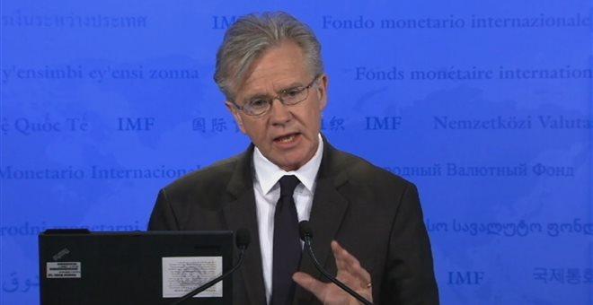 Δεν αναμένουμε έξοδο της Ελλάδας από την Ευρωζώνη, ανέφερε ο εκπρόσωπος του ΔΝΤ, Τζέρι Ράις   tanea.gr
