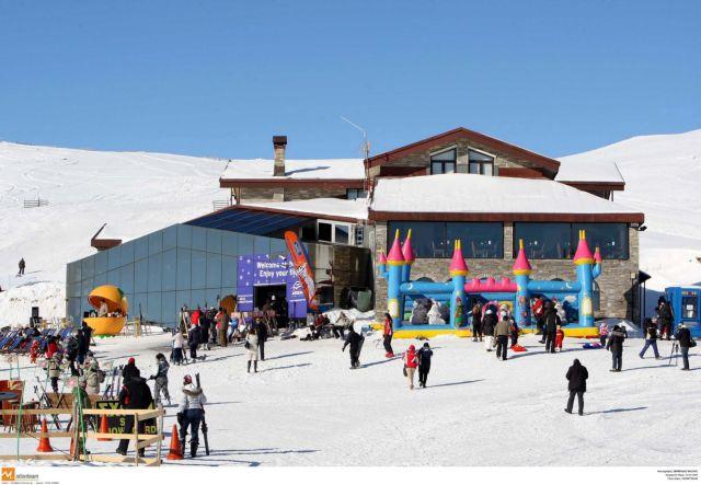 Χιονίζει στα χιονοδρομικά κέντρα του Καϊμακτσαλάν και του Πισοδερίου | tanea.gr