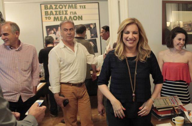 Η Φώφη Γεννηματά νέα πρόεδρος του ΠΑΣΟΚ   tanea.gr