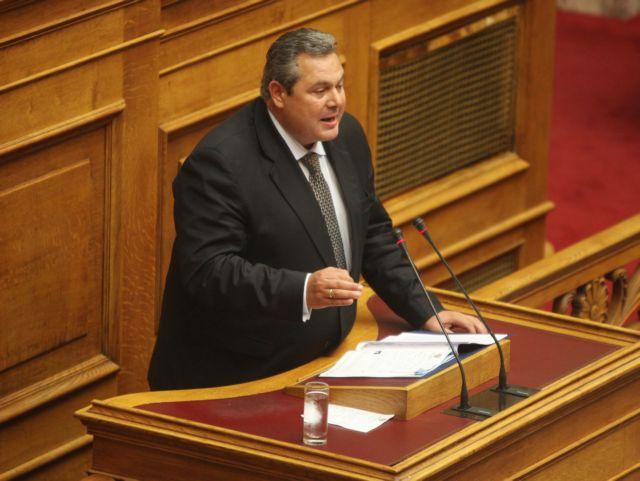 Καμμένος: Δεν υπήρχε άλλη λύση που να φέρνει ευημερία στον ελληνικό λαό | tanea.gr