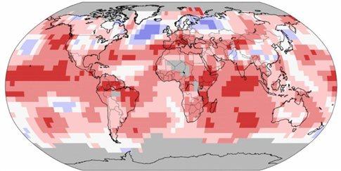 Ο Ιούλιος ήταν ο πιο θερμός μήνας που έχει καταγραφεί ποτέ   tanea.gr