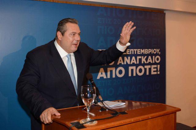Καμμένος: «Θα αποχωρήσω από την πολιτική αν οι ΑΝΕΛ δεν μπουν στη Βουλή»   tanea.gr