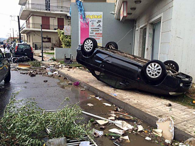 Σε κατάσταση έκτακτης ανάγκης η Σκάλα και το Ελος Λακωνίας   tanea.gr