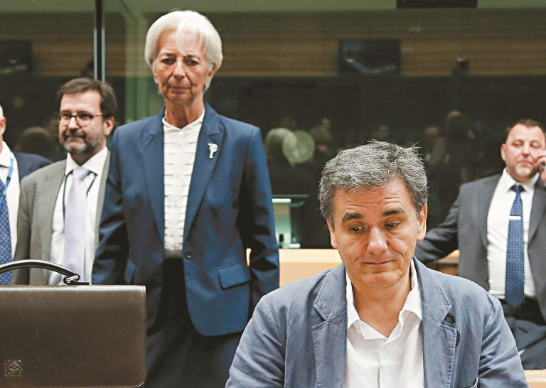 Τσακαλώτος: Συμμερίζεται τις προσπάθειές μας η Κριστίν Λαγκάρντ | tanea.gr