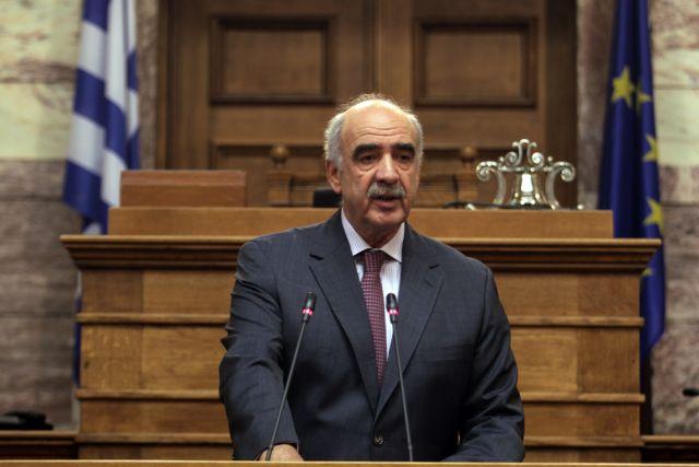 Βαγγέλης Μειμαράκης: Η ΝΔ δεν λαϊκίζει και βάζει πάνω από όλα το εθνικό καλό | tanea.gr