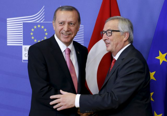 Ο Ερντογάν πήγε στις Βρυξέλλες είδε και... απήλθε για τους πρόσφυγες | tanea.gr