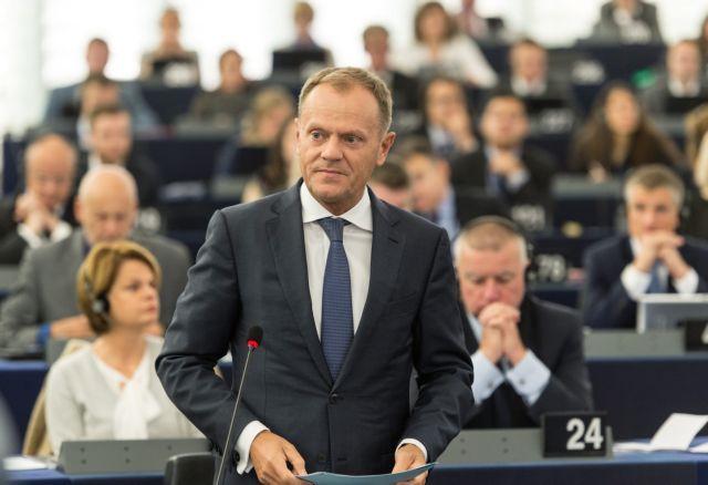 Τουσκ: «Αναγκαία προϋπόθεση η προστασία των εξωτερικών συνόρων της ΕΕ» | tanea.gr