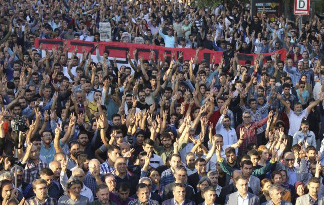 Συγκέντρωση συμπαράστασης στο Σύνταγμα για την επίθεση στην Τουρκία   tanea.gr
