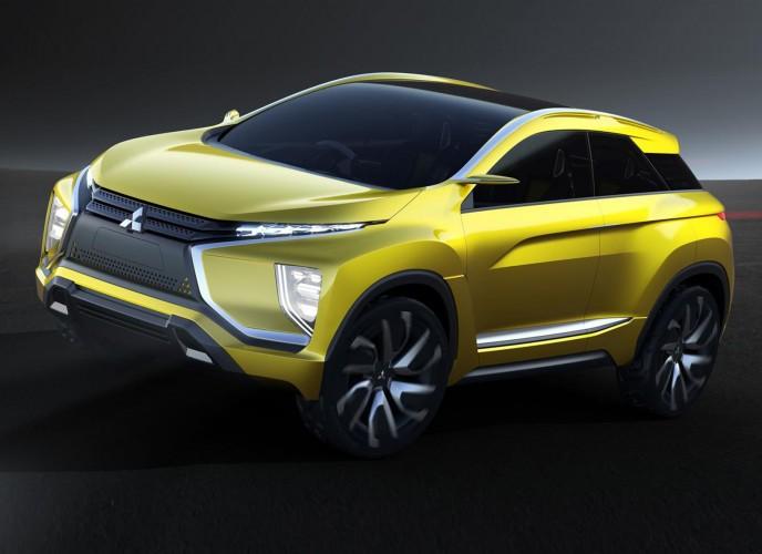 Mitsubishi eX concept: Ηλεκτρικό, crossover με τετρακίνηση | tanea.gr
