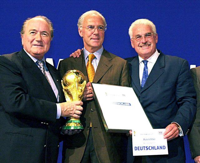 Γερμανία: Μια χώρα σε ταραχή μετά τις αποκαλύψεις για το σκάνδαλο του  Παγκόσμιου Κυπέλλου  2006   tanea.gr