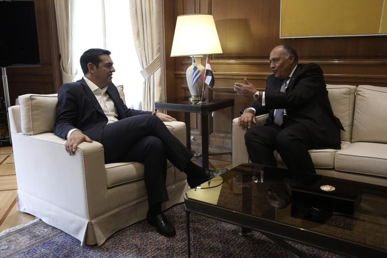 Η ανάπτυξη των σχέσεων Ελλάδας - Αιγύπτου στο επίκεντρο της συνάντησης Τσίπρα - Σάμεχ Σούκρι | tanea.gr