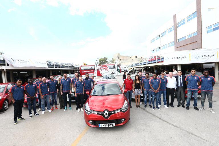 Renault και ΠΑΕ Ολυμπιακός: Μια εποικοδομητική συνεργασία | tanea.gr