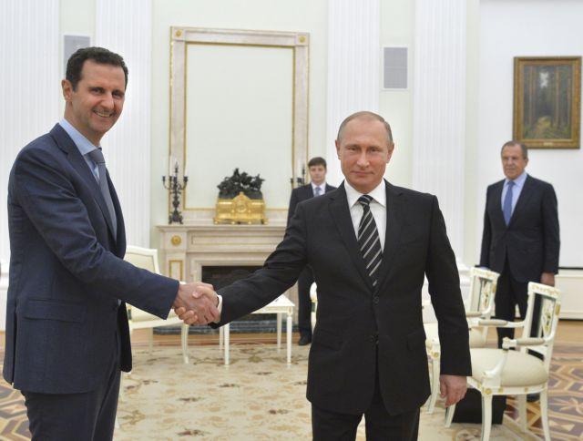 Επίσκεψη-εκπληξη Ασαντ στη Μόσχα | tanea.gr