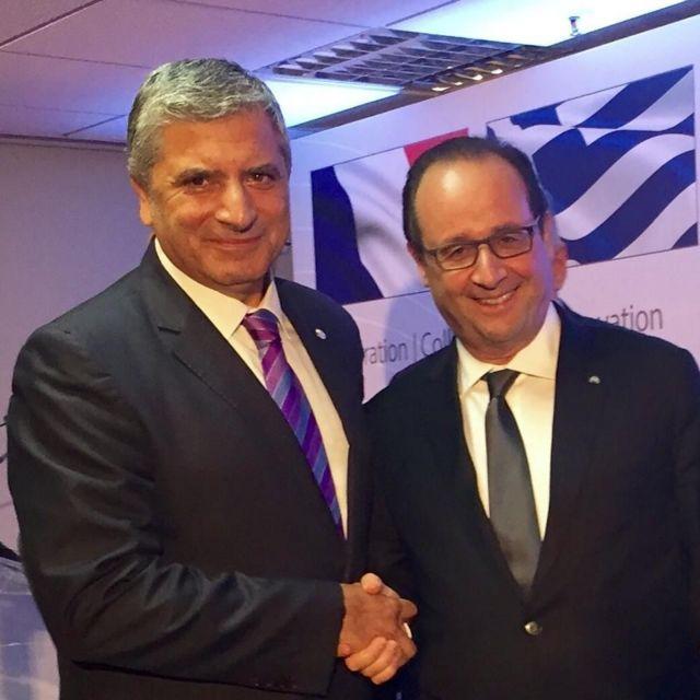 Συνάντηση προέδρου του ΙΣΑ Γ. Πατούλη με Φ. Ολάντ | tanea.gr