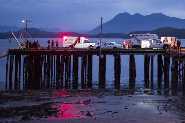 Καναδάς: Πέντε νεκροί από βύθιση σκάφους παρατήρησης φαλαινών   tanea.gr