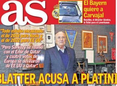 Ο Μπλάτερ κατηγορεί Πλατινί και εμπλέκει Σαρκοζί στο σκάνδαλο της FIFA | tanea.gr