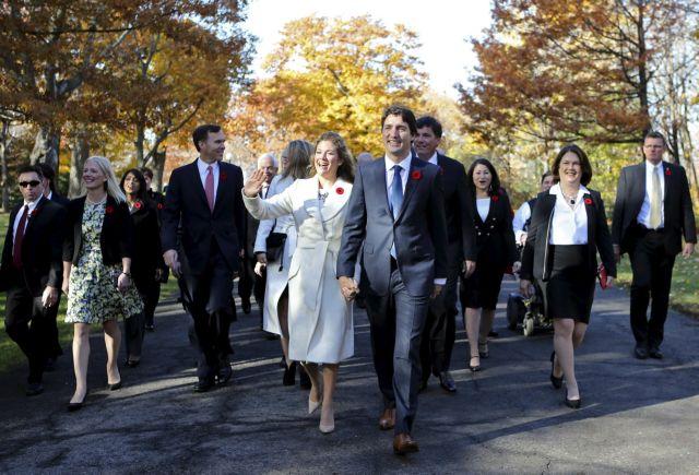 Τριντό: Το υπουργικό μου συμβούλιο μοιάζει με τον Καναδά   tanea.gr