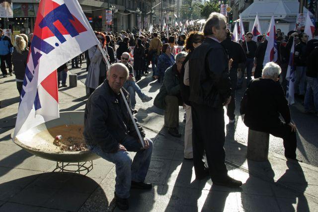 Συλλαλητήρια του ΠΑΜΕ ενάντια στο νομοσχέδιο με τα προαπαιτούμενα | tanea.gr