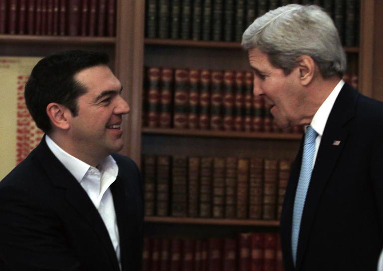 Κέρι: Θα κάνουμε ό,τι μπορούμε για να σταθεί η Ελλάδα στα πόδια της   tanea.gr