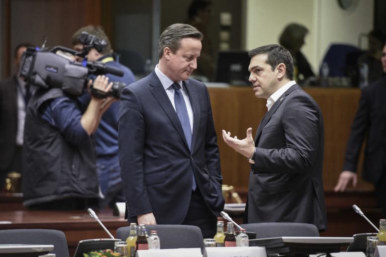 Με τον Ντέηβιντ Κάμερον συνομίλησε τηλεφωνικά ο Τσίπρας   tanea.gr