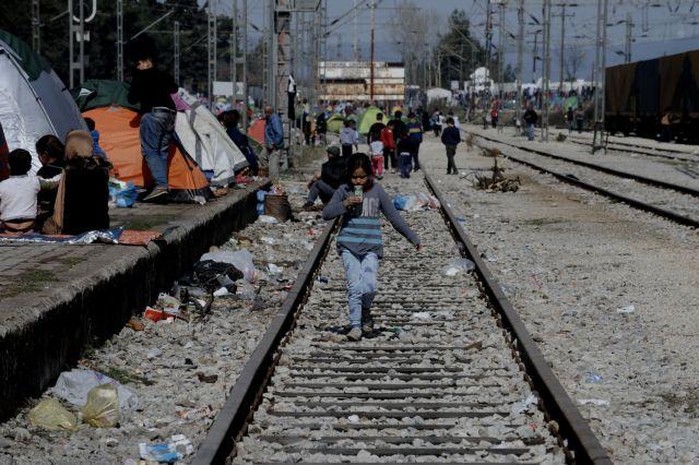 Ανοιχτή η σιδηροδρομική γραμμή στην Ειδομένη   tanea.gr